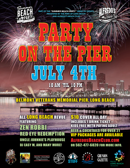 July 4th Party on the Pier, Belmont Veterans Memorial Pier