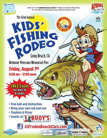 Kids' Fishing Rodeo - Friday August 7, 2015 - 8:00an to 12:00pm