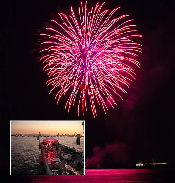 4th of July Party on the Pier - Belmont Veterans Memorial Pier