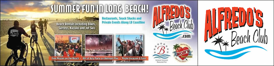 Summer Fun in Long Beach. Beach Rentalsincluding Bikes, Surreys, Kayaks and Jet Skis.Restaurants, Snack Shaks, and Private Events Along the Long Beach Coastline.Also, Free Movies on the Beach, 4th of July Party on the Pier, Pirate Invasion & Faire and much more!