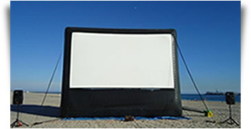 Outdoor Movie Equipment Rental