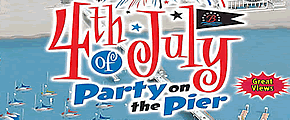 4th of July Party on the Pier